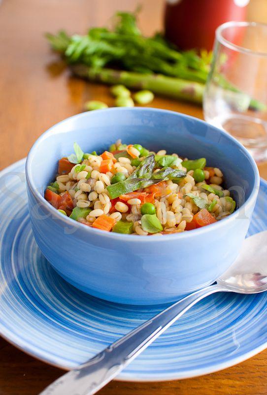 Orzotto con verdure di primavera | Ricetta di Say Yummy!!!