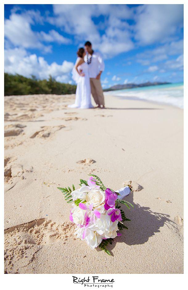 wwwrightframenet beautiful destination waimanalo beach wedding in oahu photography