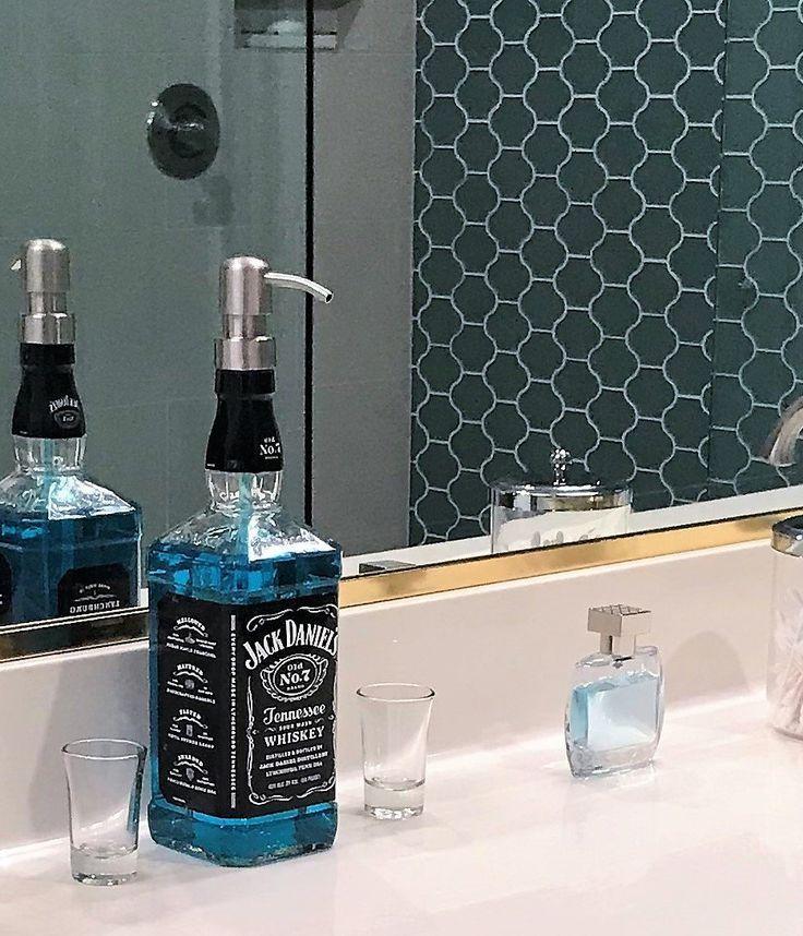 Jack Daniels Whiskey Soap Dispenser – Bathroom Soap – Kitchen Soap Dispensers