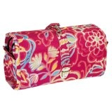 Wrapcosmetic flora 2 - Travel with all of your cosmetics in this trendy wrap!