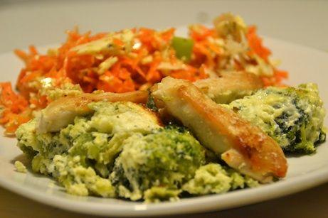 Kylling/broccoli fad
