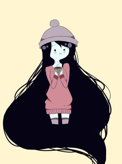 Hora de Aventuras.  Marceline.  Winter is coming. ;)