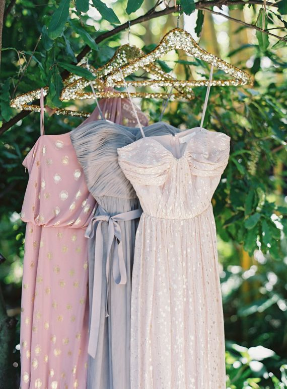 Adrianna Pappel and BHDLN bridesmaid dresses | photo by Jessica Loren | 100 Layer Cake