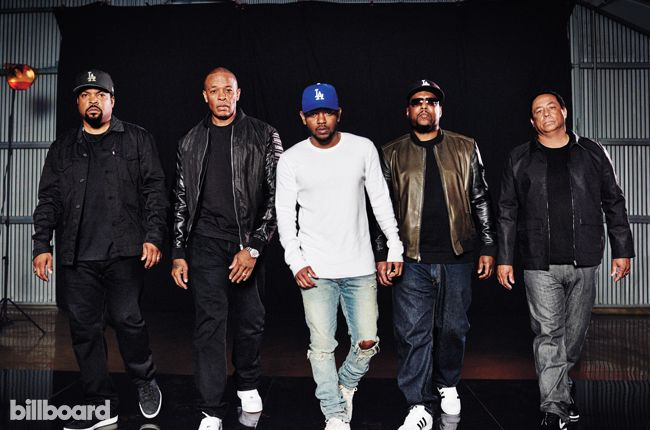 Kendrick Lamar interviews N.W.A about their Straight Outta Compton biopic in the Aug 22, 2015 issue of Billboard magazine.