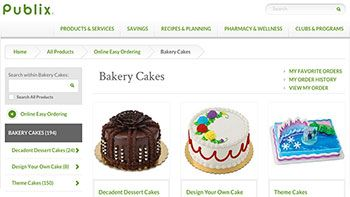 Publix adds cakes to online ordering | Bakery content from Supermarket News
