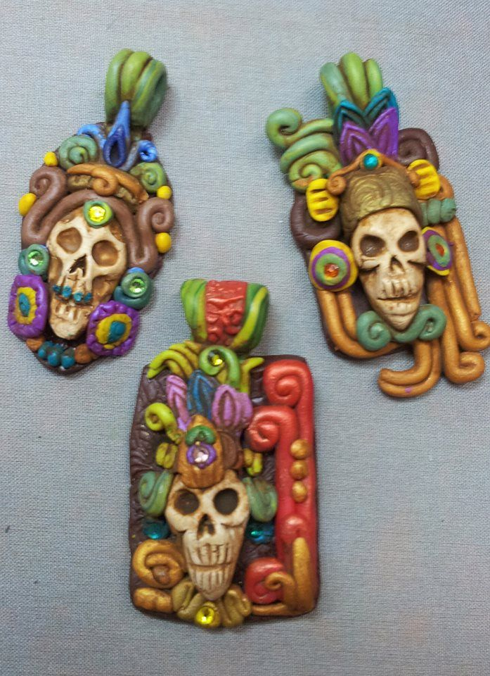 polymer clay craft ideas 48 best images about polymer clay mayan on 5226