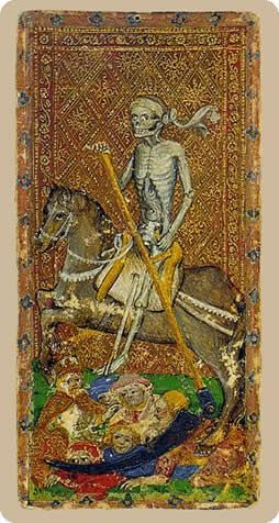 Cary-Yale Visconti Tarot - Death