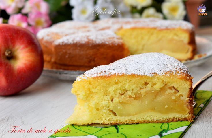 Torta di mele a spicchi, buonissima, super soffice e semplicissima da preparare! il dolce perfetto per una sana e fantastica colazione.