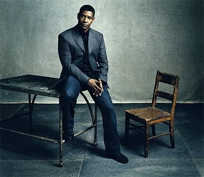 #Denzel Washington at home with me :-)
