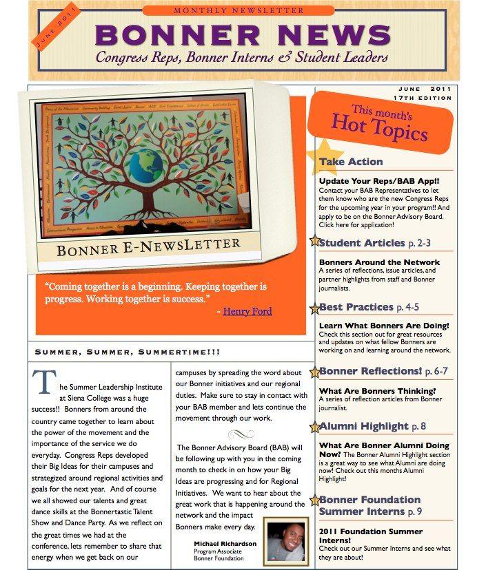 7 best newsletter designs images on pinterest