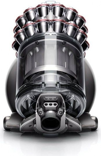Dyson DC63, a more recent design from Dyson, still utilizing the cyclonic seperation technique and employing the same clear bodied design Dyson's known for