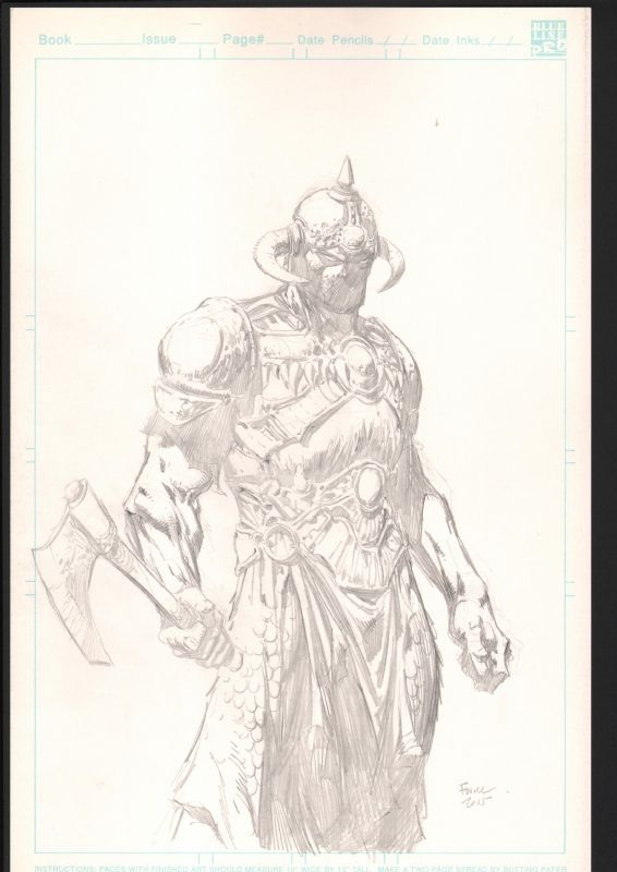 David Finch Death Dealer Comic Art