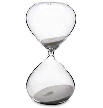 H. Stern Ampulheta Clear Glass Branca 120 Minutos Baixa Referência: 1033693 Marca: Origem: Produto Importado Designer: