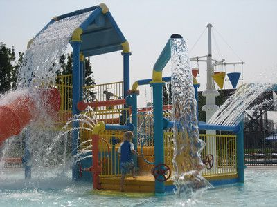 how to drain water from kids play structure