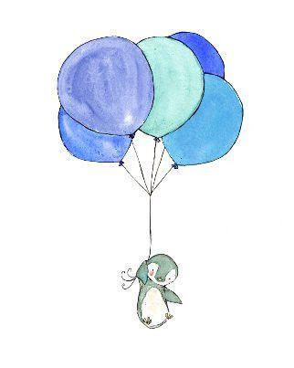 penguin's balloons | Trafalgar's Square
