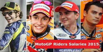 Ternyata Gaji Marquez dan Lorenzo Gak Kalah Sama Rossi ! | Motor Ganteng