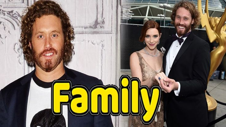 T.J. Miller Family Photos With Father,Mother and Wife Kate ...