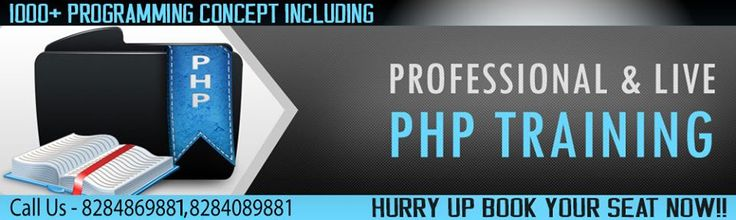 RV Technologies is one of the reputed training institute for PHP training in Chandigarh. We offers project based php training at affordable prices. Book your seat now!