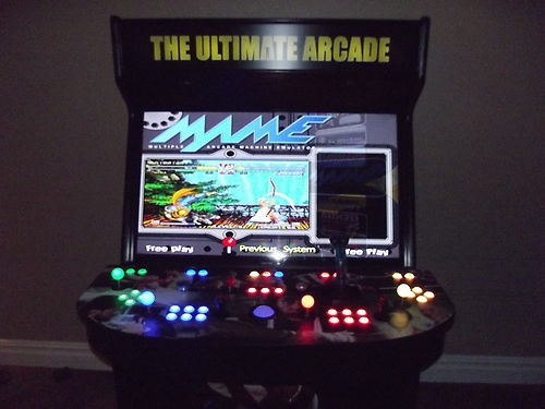 mame arcade cabinet 4 player | mf cabinets