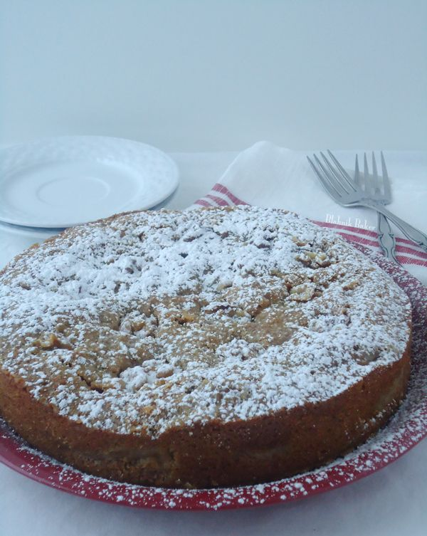 Brown Butter Ginger Apple Torte | Recipe