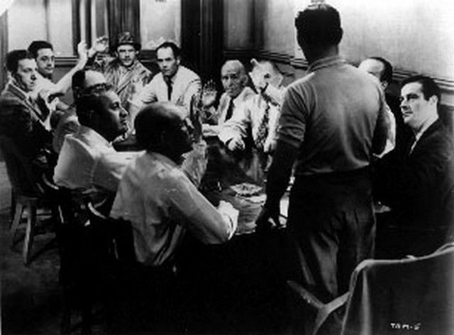 12 angry men classic movie The power of movie dialogue really makes this movie a true classic the story to 12 angry men is one man on a jury stands alone in a case in which most are initially convinced one way but one by one may be convinced another way.