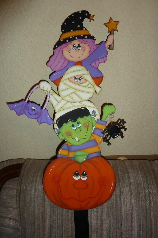 343 Best Halloween Tole Painting Images On Pinterest
