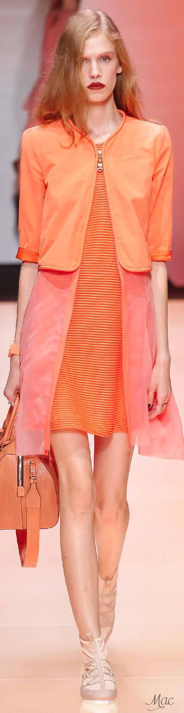 Spring 2016 Ready-to-Wear Emporio Armani
