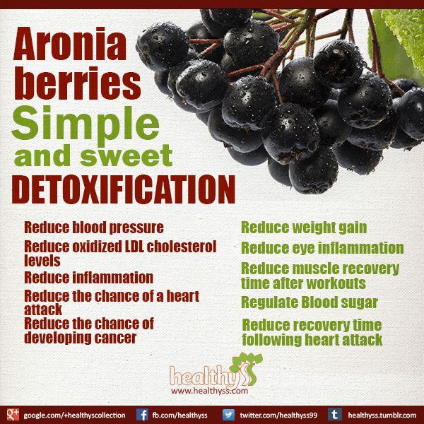 Detoxification Aronia berries