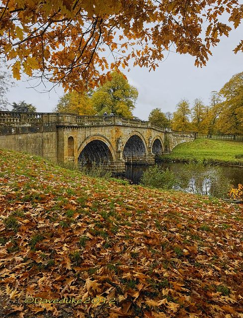 Chatsworth Bridge, Derbyshire