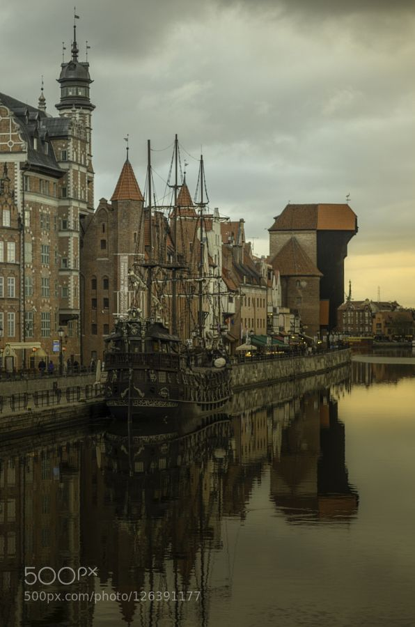 Before the sunset in Gdansk by palimetakis #Architecture #fadighanemmd