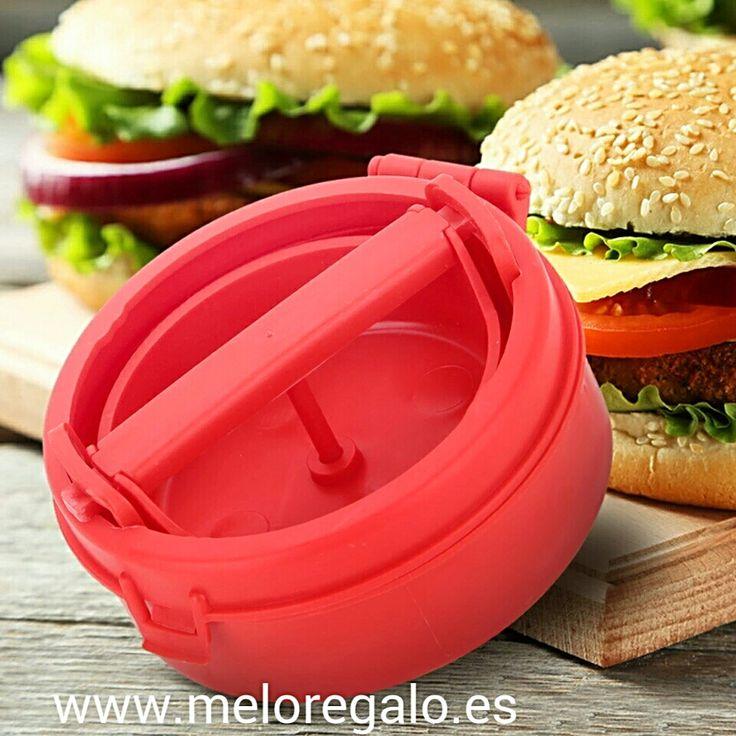 Molde para hamburguesas rellenas