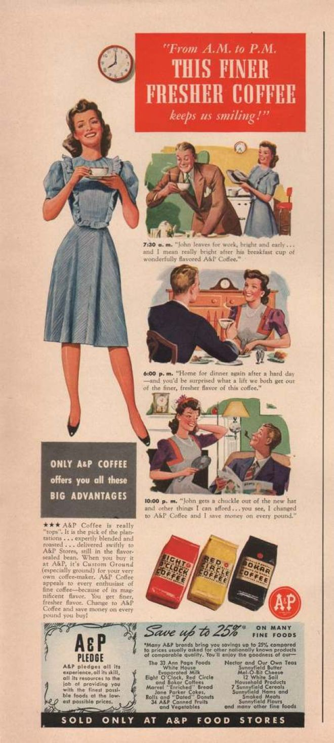 Vintage Drinks Advertisements of the 1940s (Page 9)