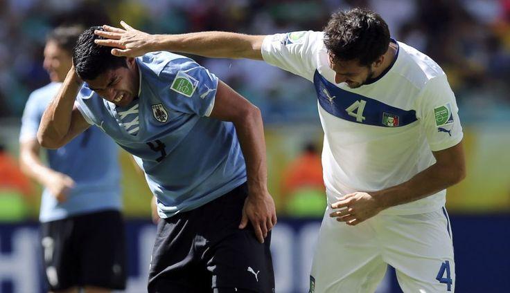 FOTOS: golazos, alegría y decepción en el duelo entre Italia y Uruguay por el tercer lugar de la Copa Confederaciones