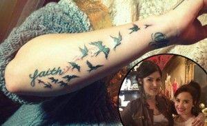 Best 8 Demi Lovato tattoo