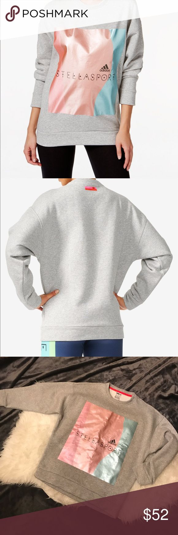 Adidas Stellasport sweatshirt  Stella MacCartney Great condition. Worn once. Size S Adidas by Stella McCartney Tops Sweatshirts & Hoodies
