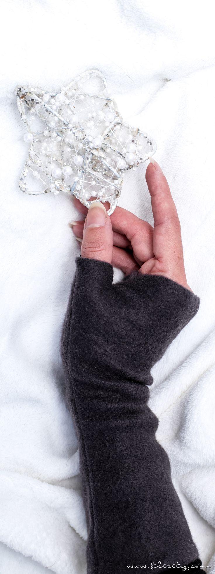 DIY-Fashion: Armstulpen nähen - Winteraccessoire und Geschenkidee zu Weihnachten | Filizity.com | DIY-Blog aus dem Rheinland #weihnachten #weihnachtsgeschenke #nähen