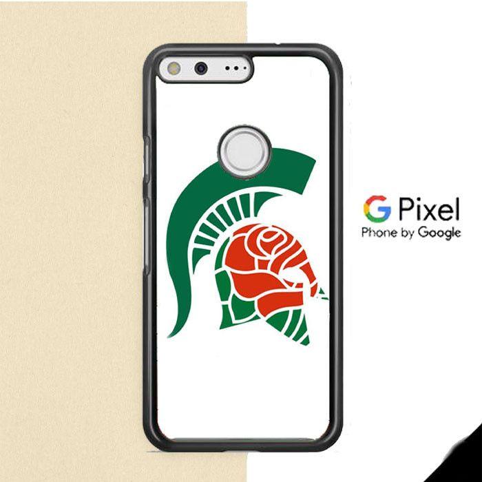 Michigan Spartan Roses Google Pixel Case