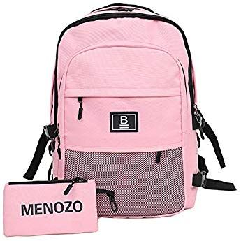 b675ad03d749 Menozo M497 ズック 大容量 高校生 リュックサック 通勤 レディース 通学 リュック メンズ バックパック (