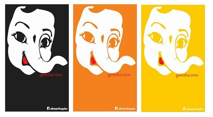 Ganesha Tshirts. Details on https://m.facebook.com/abearhug4u/