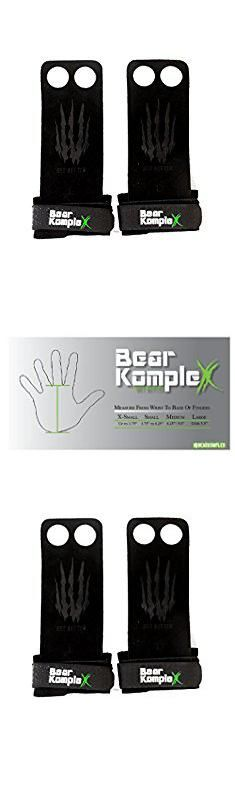 Grip 2. Bear KompleX 2 hole Gymnastics grips are great for WODs, pullups, weight lifting, chin ups, cross training, exercise, kettlebells, and more. Protect your palms from rips and tears! Small 2hole BLK.  #grip #2 #grip2