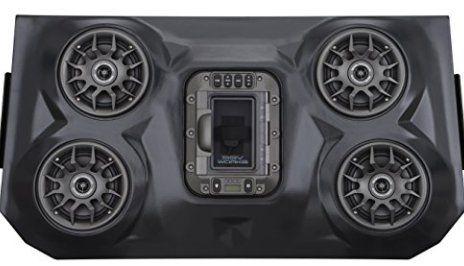 SSV Works WP-RZF3O4 Polaris RZR XP1000 4 Seat BLUETOOTH 4 Speaker Overhead Stereo System