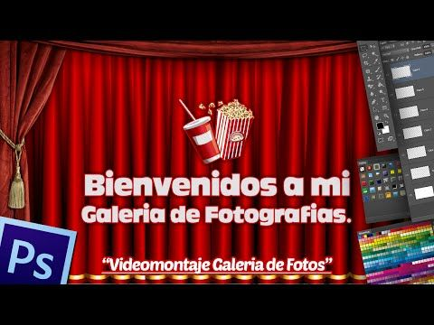 Videomontaje Galeria de Fotos Estilo Cine en Photoshop CS5 Extended. - YouTube