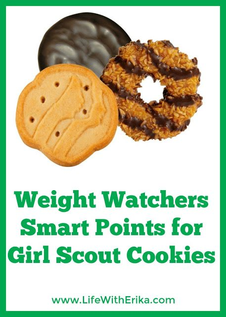 Life with Erika: Weight Watchers Smart Points for Girl Scout Cookie...