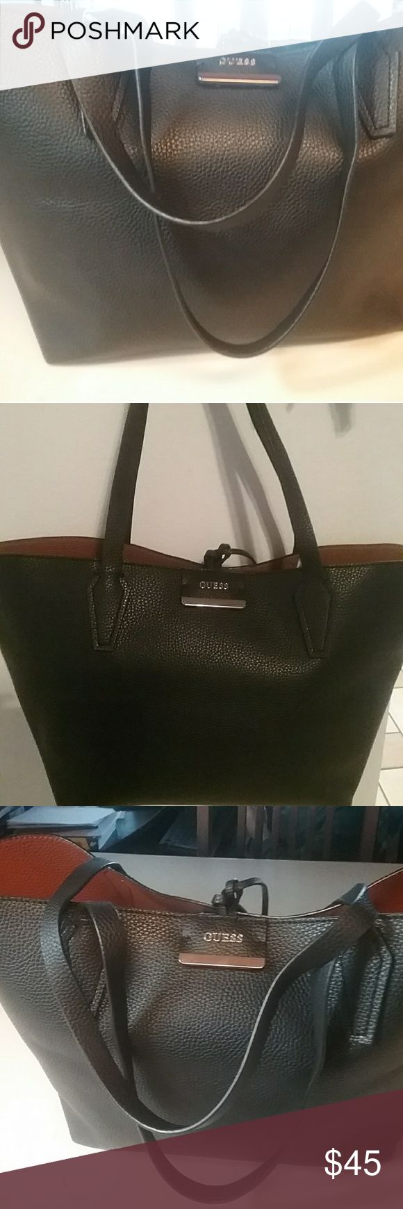 Tote Guess handbag All leather Guess original really beautiful Guess Bags Totes