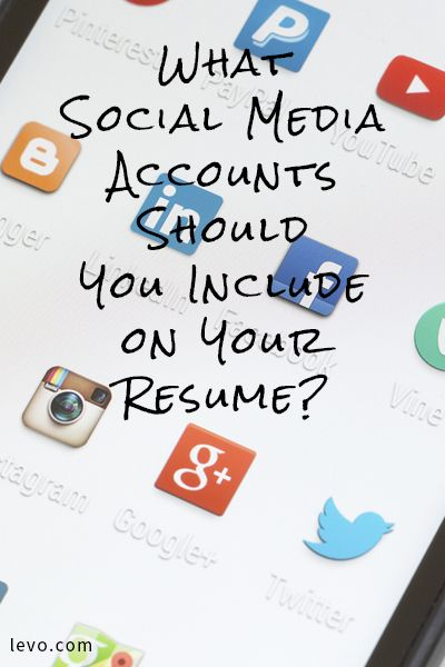 #SocialMedia on Your Resume—Is it a do or a don't?