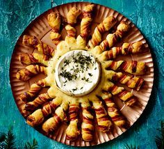 Gooey, melted cheese and crispy, golden bread make a stunning centrepiece to share with friends over drinks or as a dinner party starter - make ahead for fuss-free entertaining