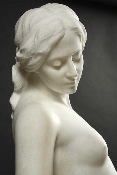 Emilio Fiaschi - Veiled Female Nude