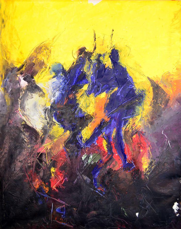 Yellow-Blue II