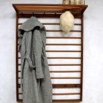 Mid century vintage design coat rack, vintage kapstok Deense stijl