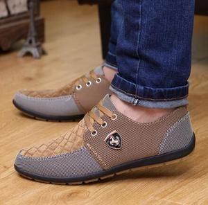 2016 mens Casual Shoes mens canvas shoes for men shoes men fashion Flats Leather brand  fashion suede Zapatos de hombre